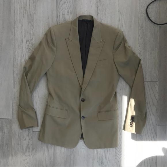 Dolce /& Gabbana D/&G Mens Beige Four Button Vest Size US 38 IT 48